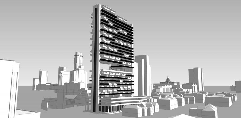 Residential High Rise - Andrew Green Architecture