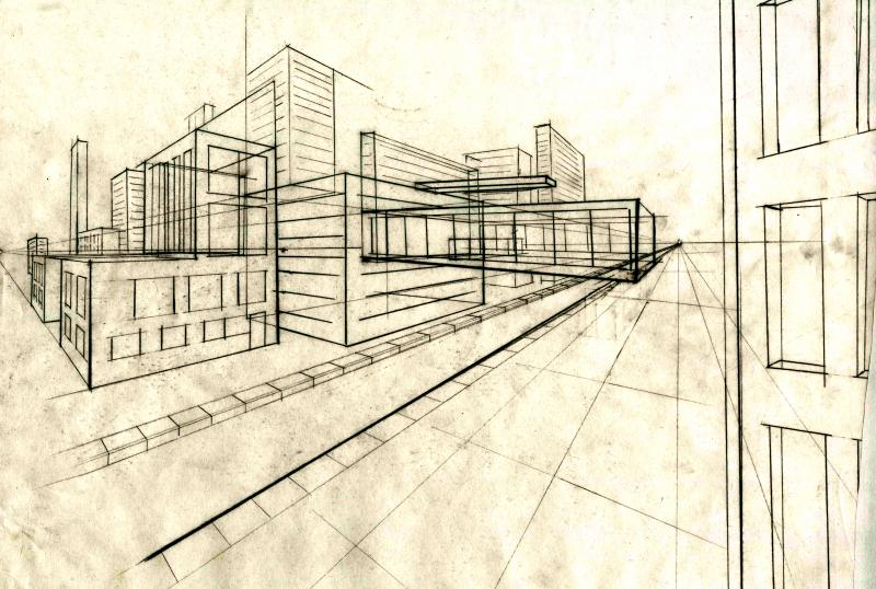 Drawing - Andrew Green Architecture